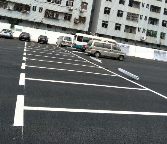 停车位划线施工-- 惠州市强路交通工程有限公司