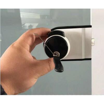 这个防盗门钥匙忘记带了怎么开锁教程