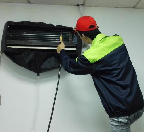 新化空调清洗-- 新化好又快家电清洗服务中心