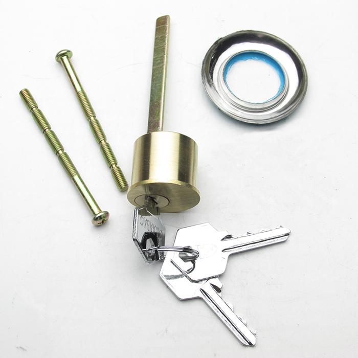 防盗门换锁芯