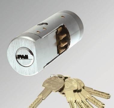 防盗门换锁芯多少钱 锁芯坏了要如何更换锁芯