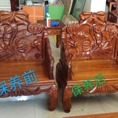 如何正確的清理與保養紅木家具?