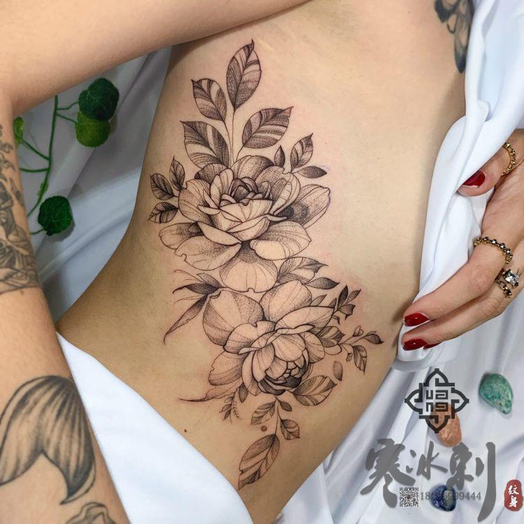 手工纹身与纹身机纹身有什么不同?-- 新疆寒冰刺纹身工作室