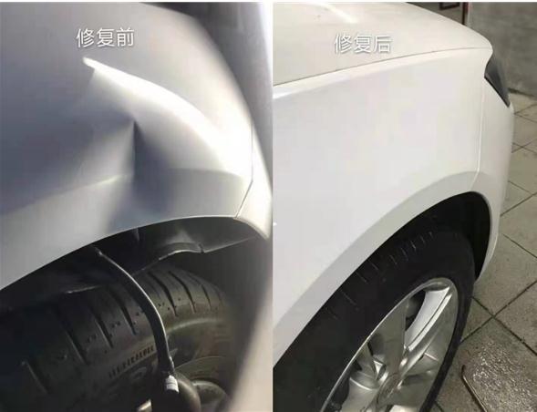 自贡汽车凹陷修复有哪些特点?如何判断技术水平的高低?-- 自贡东哥汽车凹陷免喷漆修复中心
