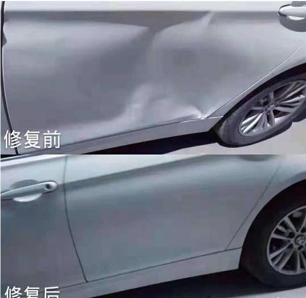 自贡汽车凹陷修复的优势有哪些-- 自贡东哥汽车凹陷免喷漆修复中心