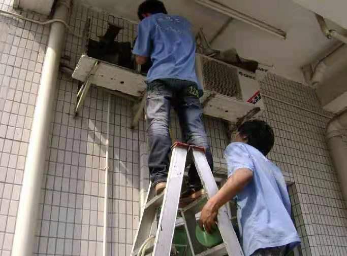 空调外机怎样清洗,空调外机清洗的方法有哪些-- 益阳张师傅空调维修移机